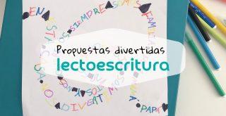 actividades lectoescritura infantil